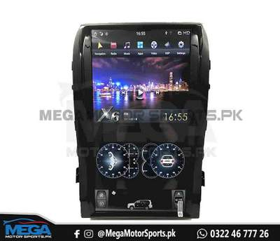 Toyota Land Cruiser ZX Tesla Style Android LCD Multimedia System