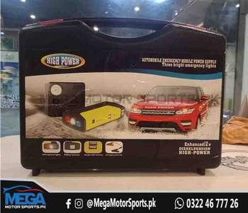 Car Power Jump Starter (50800mAH) With Air Compresser and Power Bank