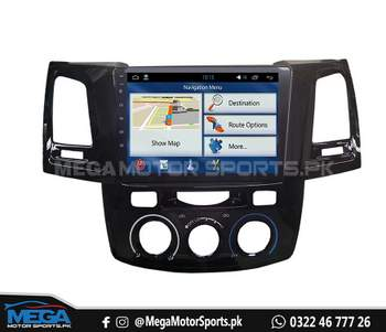 Toyota Fortuner Android Panel LCD Multimedia - Model 2012 - 2015